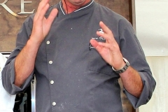 Celebrity Chef - Kevin Dundon prepares a Salmon Dish at the Cookery Demonstration
