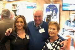 Edel, Martin and Margaret Quinn, The Salmon Inn at their Stand at the Food Festival