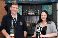 James Doherty and Deirdre Byrne, Sliabh Liag Distillery who recently won an award for their Silkie Whiskey at the Irish Whiskey Masters