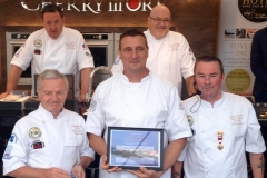 Runner Up of the Passion to Inspire Award 2018 - Attila Czibla, The House Gastro Pub, Donegal Town with the Judges