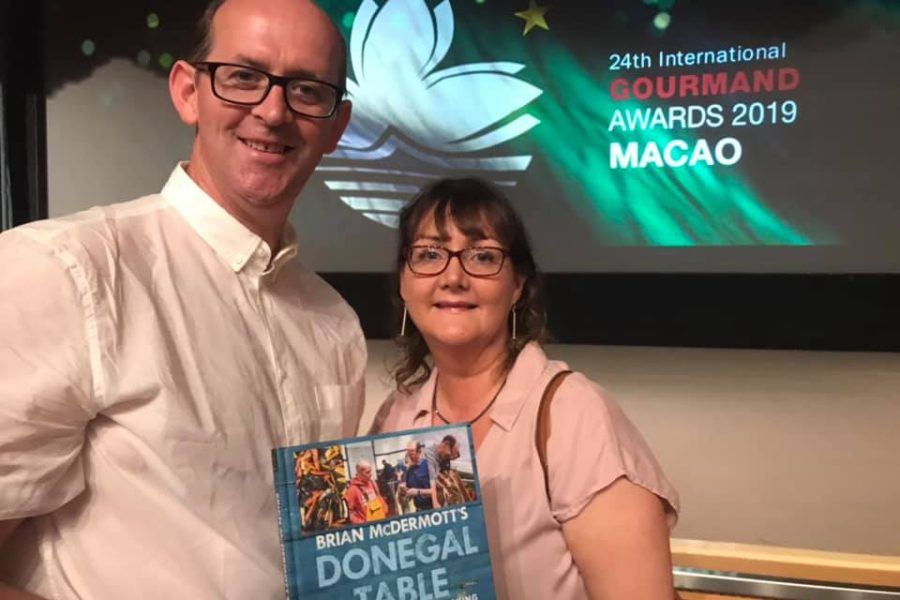 Donegal Chef Brian Mc Dermott Wins Prestigious Cookbook Award